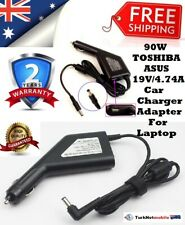 90W TOSHIBA, Asus 19V 4.74A, Car Charger Adapter For Laptop
