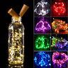 Colorful 20 LED Wine Bottle Cork Shape Lights Night Fairy String Light Lamp 1.5M