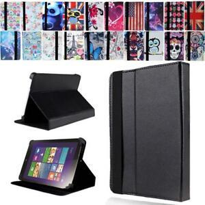 "LEATHER STAND Cover CASE For 7"" 8"" 10"" Lenovo Tab E7 E8 E10/A7 A8 A10/S8 Tablet"