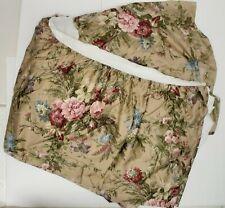 Ralph Lauren Adriana Bedskirt Bed Skirt Duster Queen Multi Floral Usa