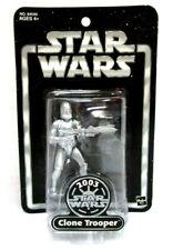Star Wars CLONE TROOPER Silver figura PVC 10cm Hasbro