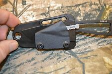 TBK AH-1 440 STAINLESS ARROWHEAD WITH ESEE IZULA PIGGY BACK KYDEX SHEATH