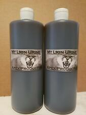 Mt Lion cougar Urine 1/2 gal hunting trapping trap trapper garden repellent fur