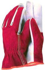 TOWN & COUNTRY Softleder mit Wildleder Gartenhandschuhe TGL114M Premium Qualität