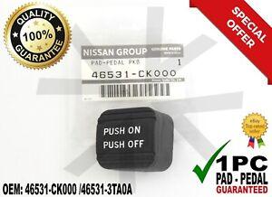 46531-CK000 Parking Brake Pedal Pad Altima Maxima Titan Rogue Quest Pathfinder