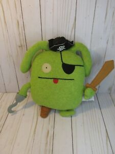 "G4 Uglydolls Pirate Ox 13"" Classic and RARE green original"