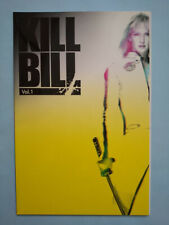 Kill Bill: Vol.1 Uma Thurman Japan movie booklet 2003 Tarantino Ex Rare!