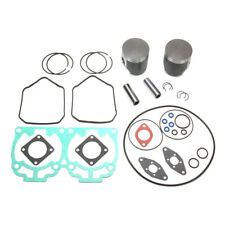 2006 SKI-DOO REV 600 HO SDI *DUAL RING SPI PISTONS,BEARINGS,TOP END GASKET KIT*