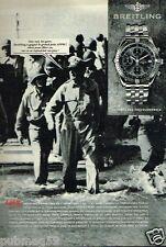 Publicité advertising 1993 La Montre Breitling prix APPM