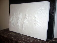 GRAND bas relief  NEUF la Farandole  88X59cm