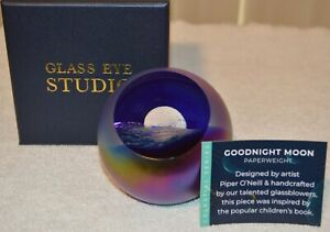 Goodnight Moon Celestial Paperweight by Glass Eye Studio, 2231PWC 2