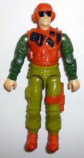 GI JOE SKIDMARK Vintage Figure Desert Fox Driver COMPLETE 3 3/4 C9 v1 1988