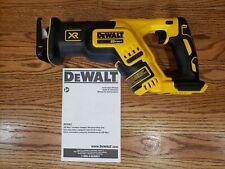 New DeWalt 20 Volt 20v Max Brushless Cordless Reciprocating Saw DCS367