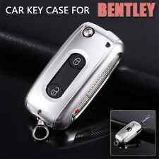 Aluminum Alloy Car Key Case For Bentley Continetal Mulsanne Flying Spur Bentayga