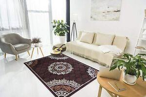 3 X 2 Ft Polypropylene Hand-Tufted Solid Modern Carpet(Brown)For Home Decoration