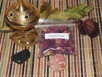 Red Rosebuds & Petals ~ 10 grams ~ for Love & Protection ~ Burn Herb on Charcoal