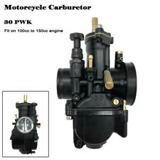 1x Black Motorcycle 30mm Carburetor Racing Part For OEM Replacement Carb PWK