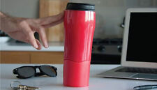 Mighty Mug Biggie 16oz Won't Fall Over Spill Proof Smartgrip Travel Thermos Cup
