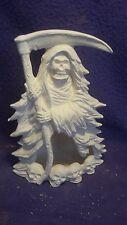 "Grim Reaper chimnea ready to paint 7"" ceramic bisque"
