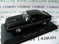 RBA11M voiture 1/43 RBA Italie IXO : FORD capri 1982 2.8 l injection noire