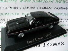 coche 1/43 RBA Italia IXO : FORD capri 1982 2.8 l inyección negra