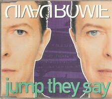 DAVID BOWIE- JUMP THEY SAY CD SINGLE 6 TRACKS 1993 EXCELLENT CONDITION
