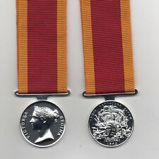 CHINA WAR MEDAL 1842 - A SUPERB QUALITY FULL-SIZE  DIE-STRUCK REPLICA