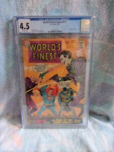 World's Finest Comics #177 CGC 4.5 August / 1968 DC Comics Joker / Lex Luthor