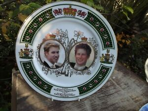 2003 Plate Prince William 21st & Prince Harry 18th Chown China Limited Edition