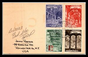 GP GOLDPATH: VATICAN POST CARD 1953 _CV681_P23