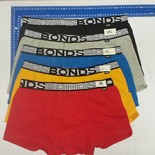 6 X MENS BONDS Cotton UNDERWEAR Trunks Briefs Boxer  S-XXL