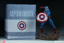 Marvel Comics Captain America Statue Sideshow Collectibles Avengers Assemble