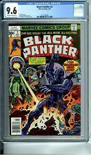 BLACK PANTHER 2 CGC 9.6 JACK KIRBY STORY COVER & ART 3/77 Marvel Comics