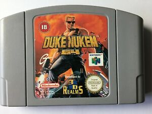 Duke Nukem N64 Nintendo 64 N052G1