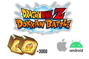 Account Dokkan Battle Global + 3400 & Jap +3800 (Android/IOS)