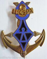 Insigne Sahara 11° CSPA Cie Saharienne Portée Africaine Coloniale ORIGINAL Drago
