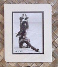 "Kim Taylor Reece ""Kilakila"" 8 X 10 Double Matted Hawaiian Hula Print - New"