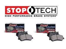 For Cadillac SRX 2010-2016 Front & Rear PQ Ceramic Brake Pads Pair Set StopTech