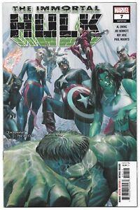 Immortal Hulk #7 (12/2018) Marvel Comics Alex Ross 1st Print Cover