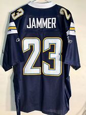 Reebok Premier NFL Jersey San Diego Chargers Quentin Jammer Navy sz 2X