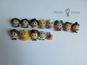 Disney Doorables Lot of 13x Figurines Aladdin Toy Story Tangled Cinderella Beast