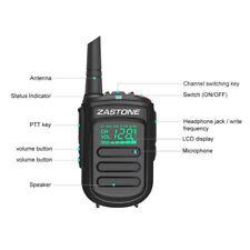 Zastone Mini9 UHF400-470mHz Portable Handie Talkie Transceiver Two Way Radio