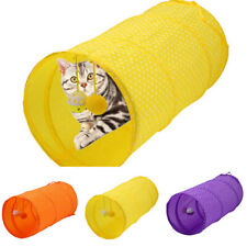 Portable Cat Pet Tent Cat Tunnel Foldable Wave Point Cat Channel Cat Dog Toys