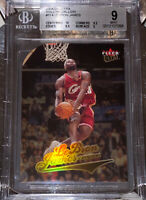 POP 11 2004 LeBron James FLEER ULTRA GOLD MEDALLION #114 BGS 9 10 sub PSA lakers