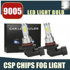 9005 LED Headlight Bulbs Conversion Kit Super High/Low Beam 80W 4000LM 6000K WH