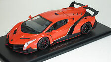 lamborghini veneno black and orange. kyosho 143 lamborghini veneno diecast replica 05571or orange red line black and