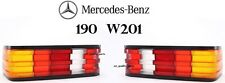 Mercedes Benz190 W201 Rear Tail Light Lights Lamp Lamps Right + Left Side Set