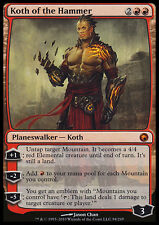 MTG KOTH OF THE HAMMER EXC - KOTH DEL MARTELLO - SOM - MAGIC