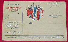 CPA GUERRE 14-18 CORRESPONDANCE MILITAIRE 1915 POILUS ARMEE MILITARIA TRANCHEES