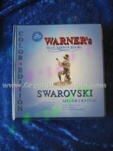 Swarovski Color Book -2001 Warner's Blue Ribbon Book on Swarovski Silver Crystal